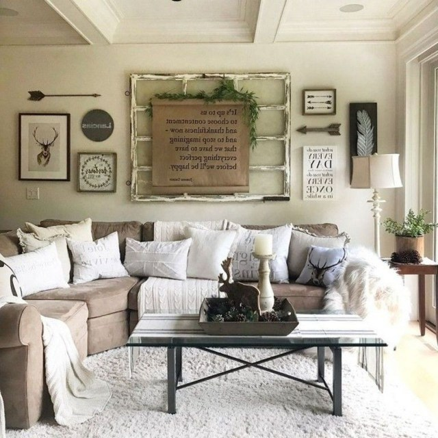 Enchanting Living Room Decor Ideas That Trending This Winter 27