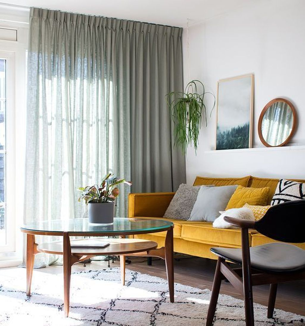 Inexpensive Living Room Curtain Design Ideas On A Budget 03