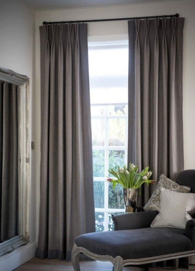 Inexpensive Living Room Curtain Design Ideas On A Budget 08