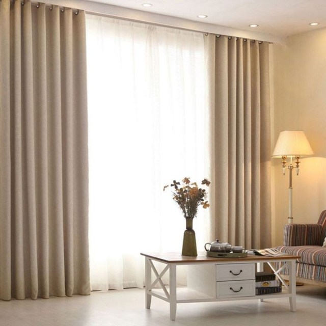 Inexpensive Living Room Curtain Design Ideas On A Budget 13