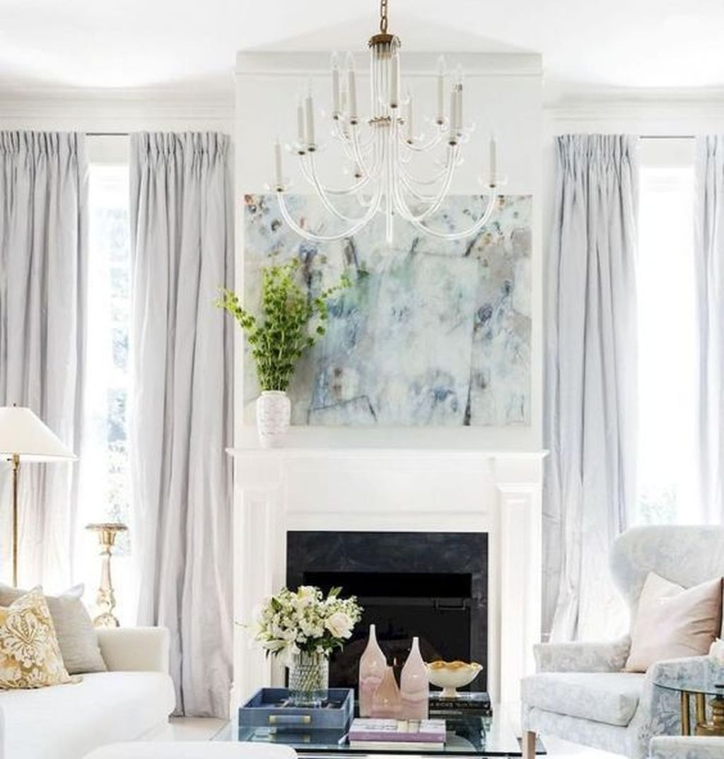 Inexpensive Living Room Curtain Design Ideas On A Budget 16