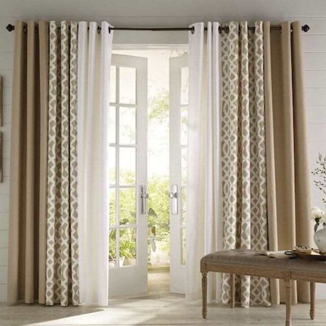 Inexpensive Living Room Curtain Design Ideas On A Budget 21