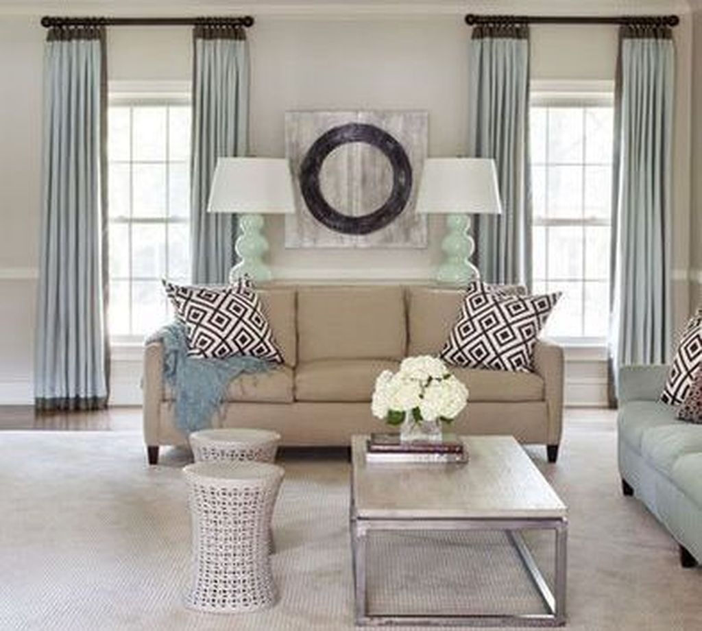 Inexpensive Living Room Curtain Design Ideas On A Budget 38