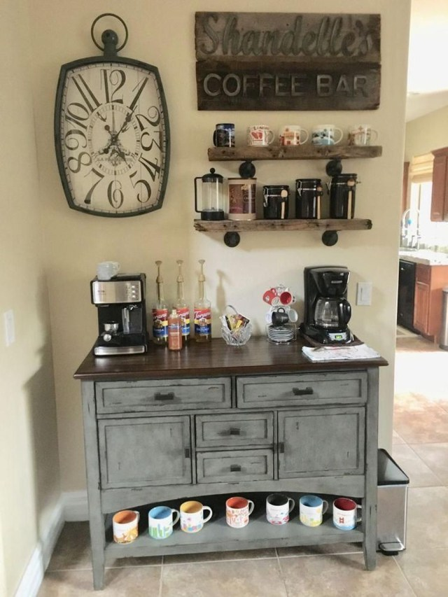 Magnificient Home Coffee Bar Design Ideas You Must Have 06