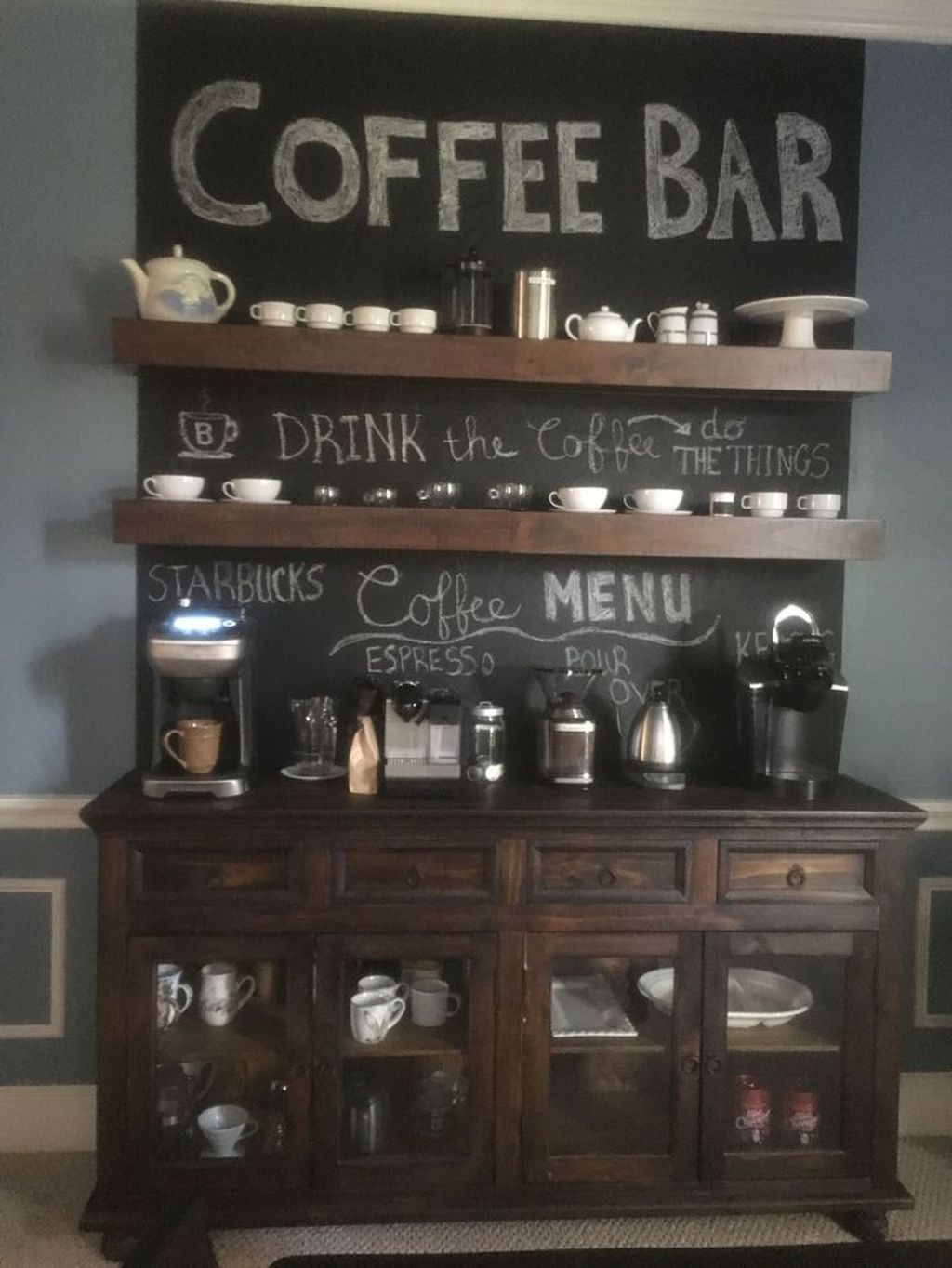 Magnificient Home Coffee Bar Design Ideas You Must Have 08