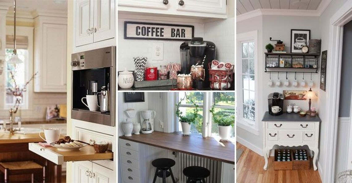 Magnificient Home Coffee Bar Design Ideas You Must Have 13