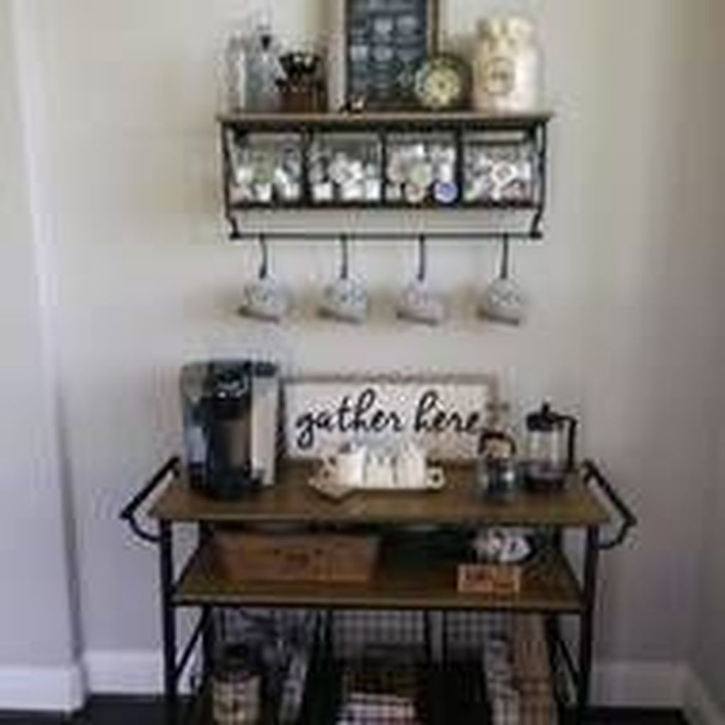 Magnificient Home Coffee Bar Design Ideas You Must Have 16