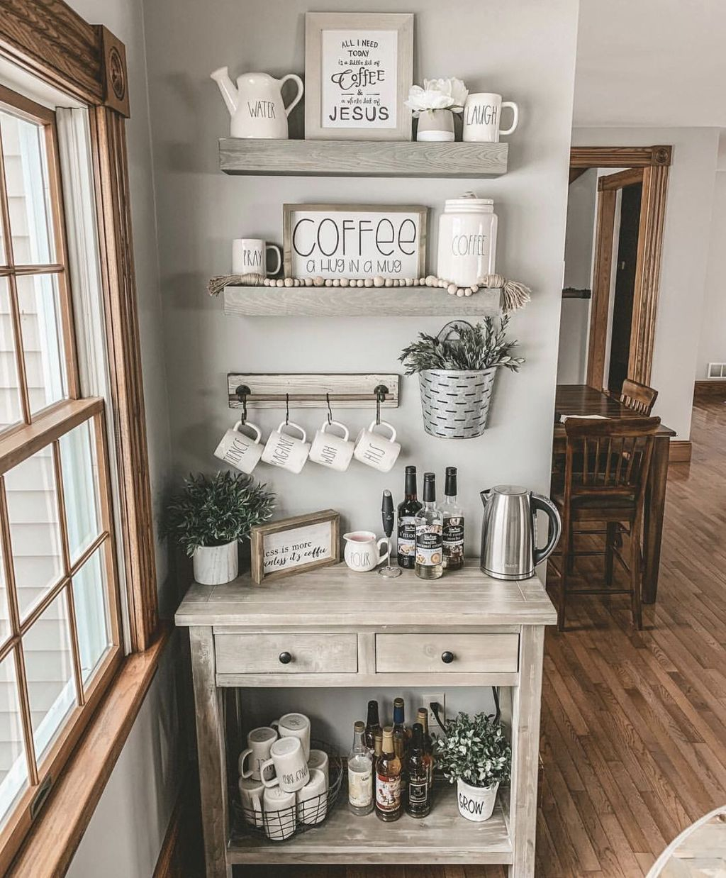 Magnificient Home Coffee Bar Design Ideas You Must Have 32