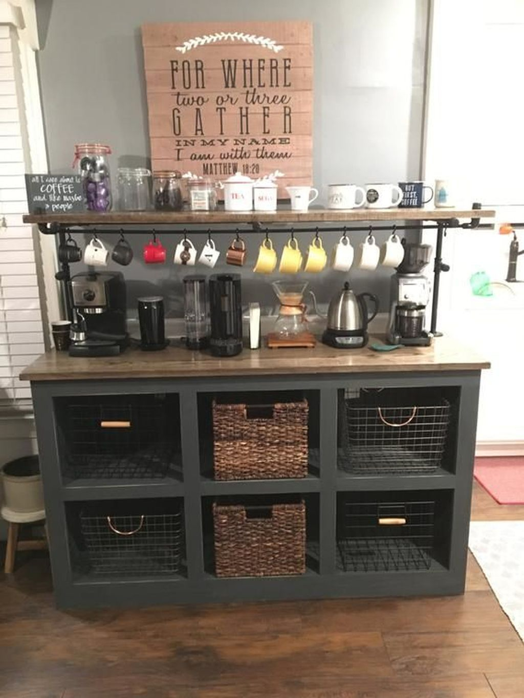 Magnificient Home Coffee Bar Design Ideas You Must Have 35