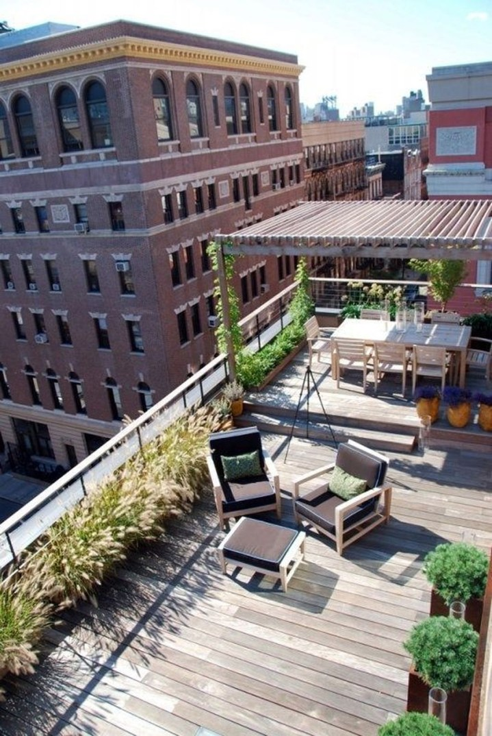 Modern Roof Terrace Design Ideas 07
