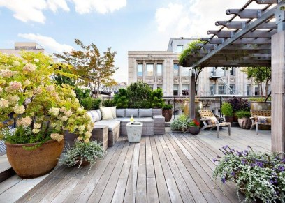 Modern Roof Terrace Design Ideas 15