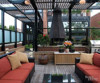 Modern Roof Terrace Design Ideas 27