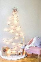 Pretty Space Decoration Ideas With Christmas Tree Lights 25