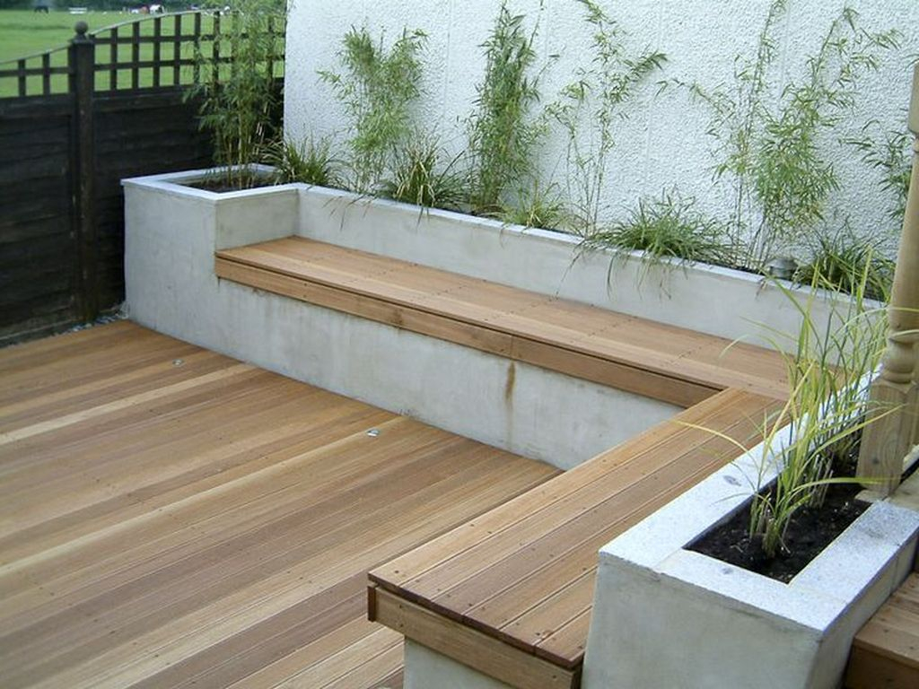 Rustic Wall Outdoor Concrete Ideas For Inspiration 04