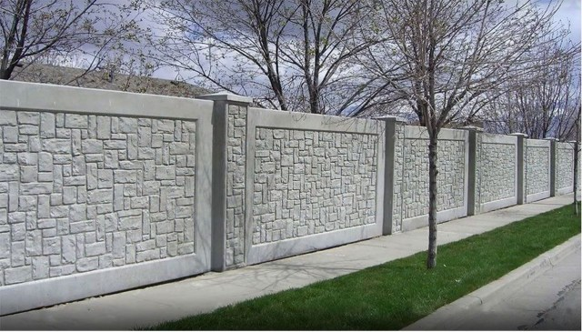 Rustic Wall Outdoor Concrete Ideas For Inspiration 07
