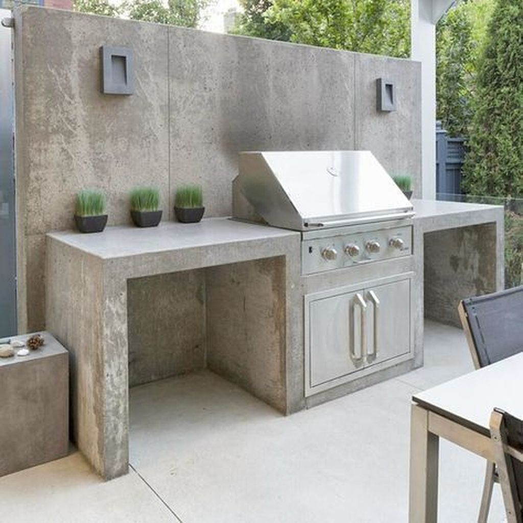 Rustic Wall Outdoor Concrete Ideas For Inspiration 11