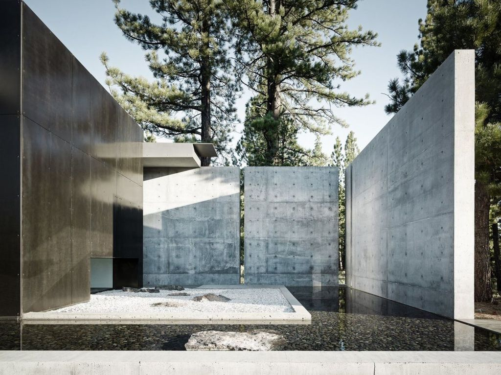 Rustic Wall Outdoor Concrete Ideas For Inspiration 21
