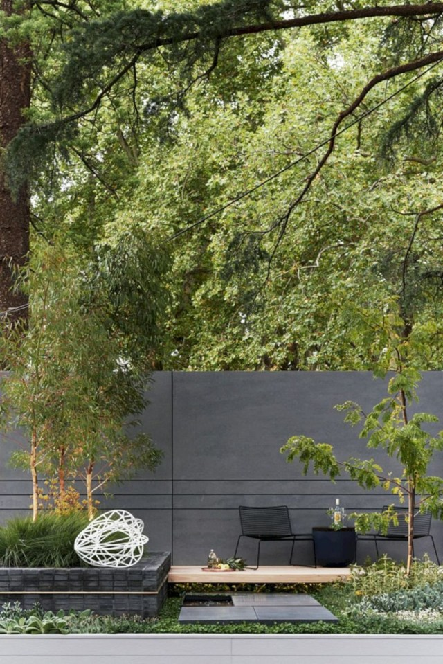Rustic Wall Outdoor Concrete Ideas For Inspiration 23