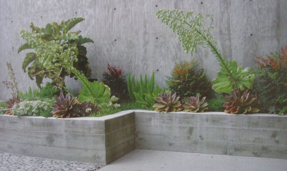 Rustic Wall Outdoor Concrete Ideas For Inspiration 32
