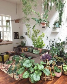 Smart Interior Design Ideas With Plants For Home 02