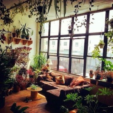 Smart Interior Design Ideas With Plants For Home 38