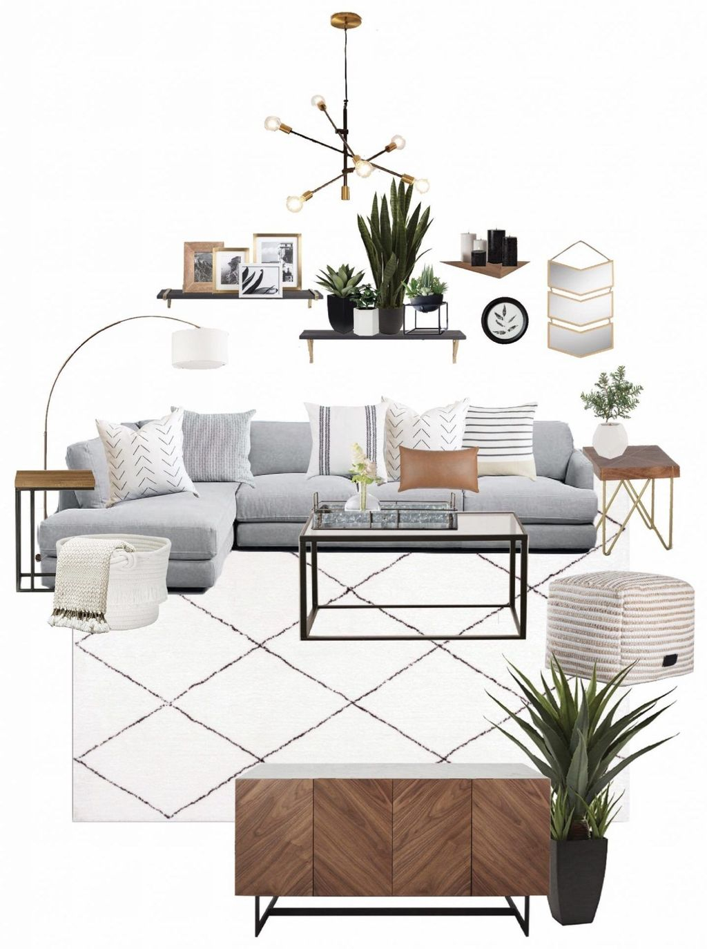 Stunning Apartment Living Room Decorating Ideas On A Budget 24