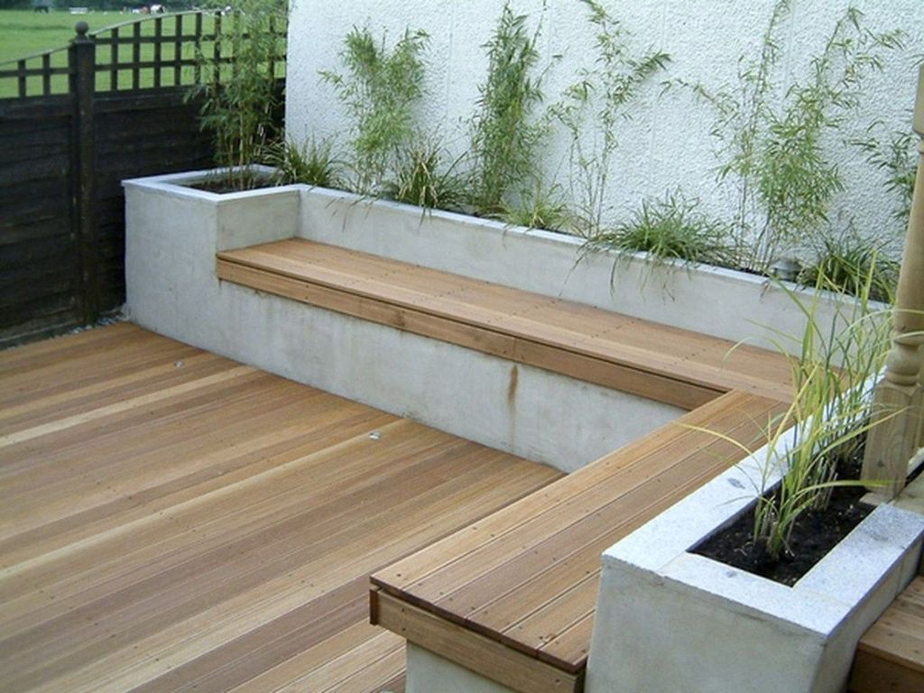 Stylish Garden Design Ideas With Cinder Block To Try 06