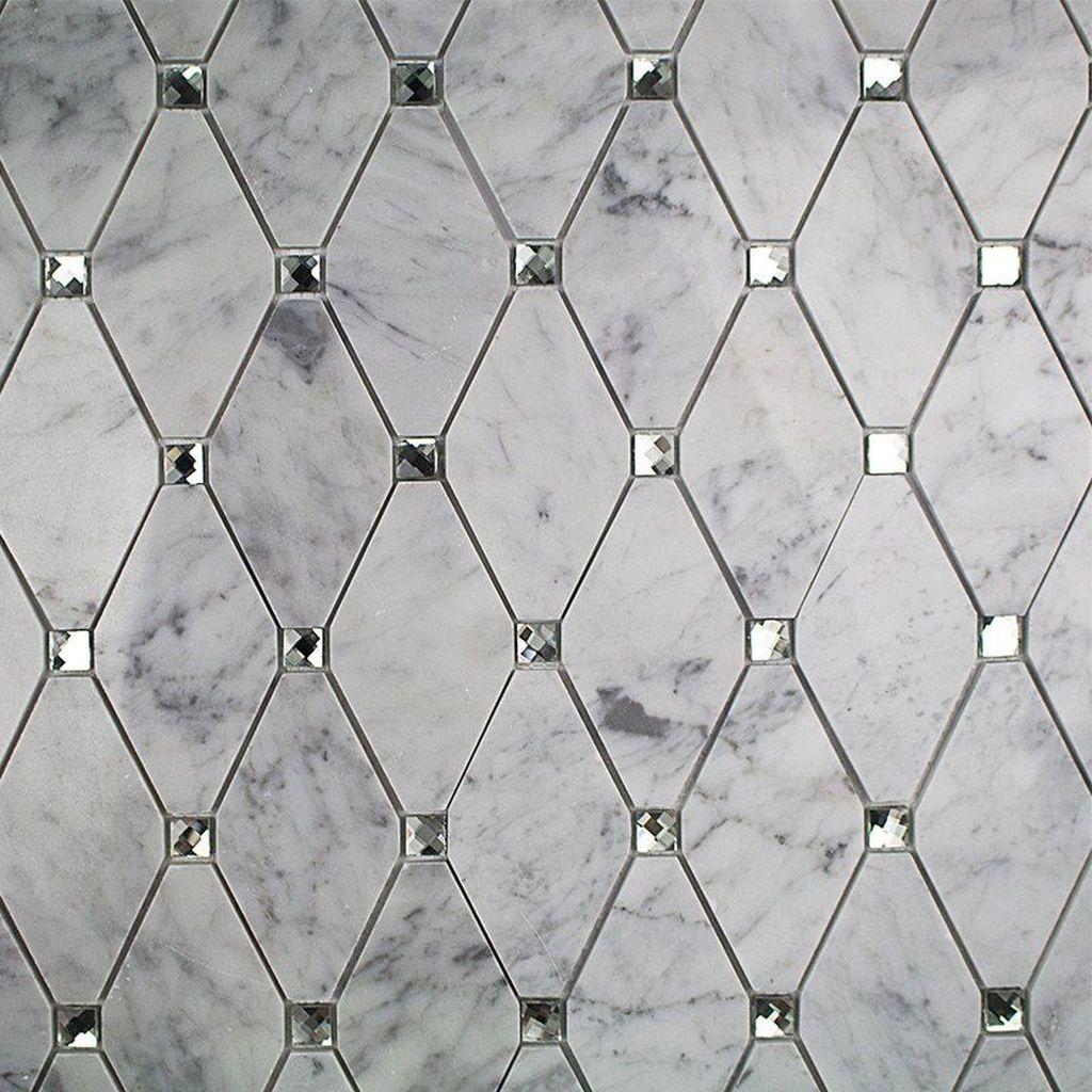 Superb Glitter Kitchen Tiles Design Ideas To Try Nowaday 17