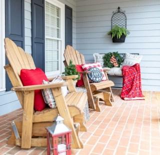Unique Christmas Decoration Ideas For Front Porch 12