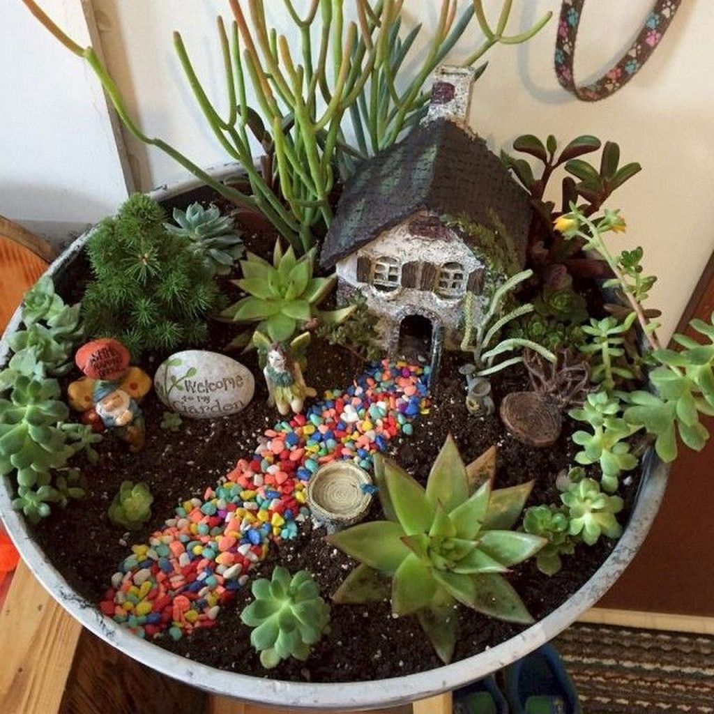 Unordinary Magical Fairy Garden Design Ideas To Try 04