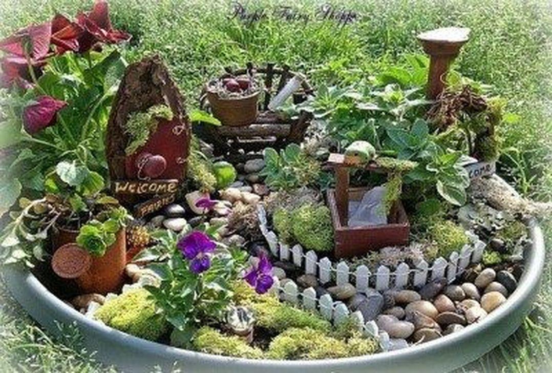Unordinary Magical Fairy Garden Design Ideas To Try 05