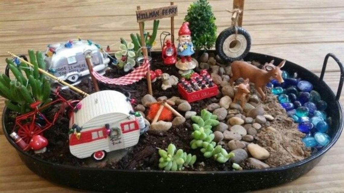 Unordinary Magical Fairy Garden Design Ideas To Try 06