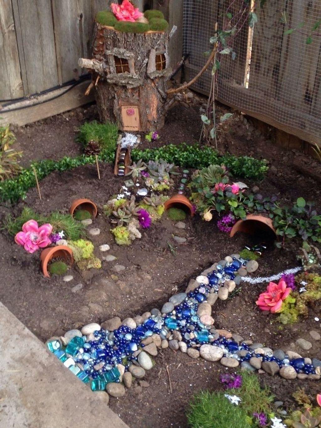 Unordinary Magical Fairy Garden Design Ideas To Try 16