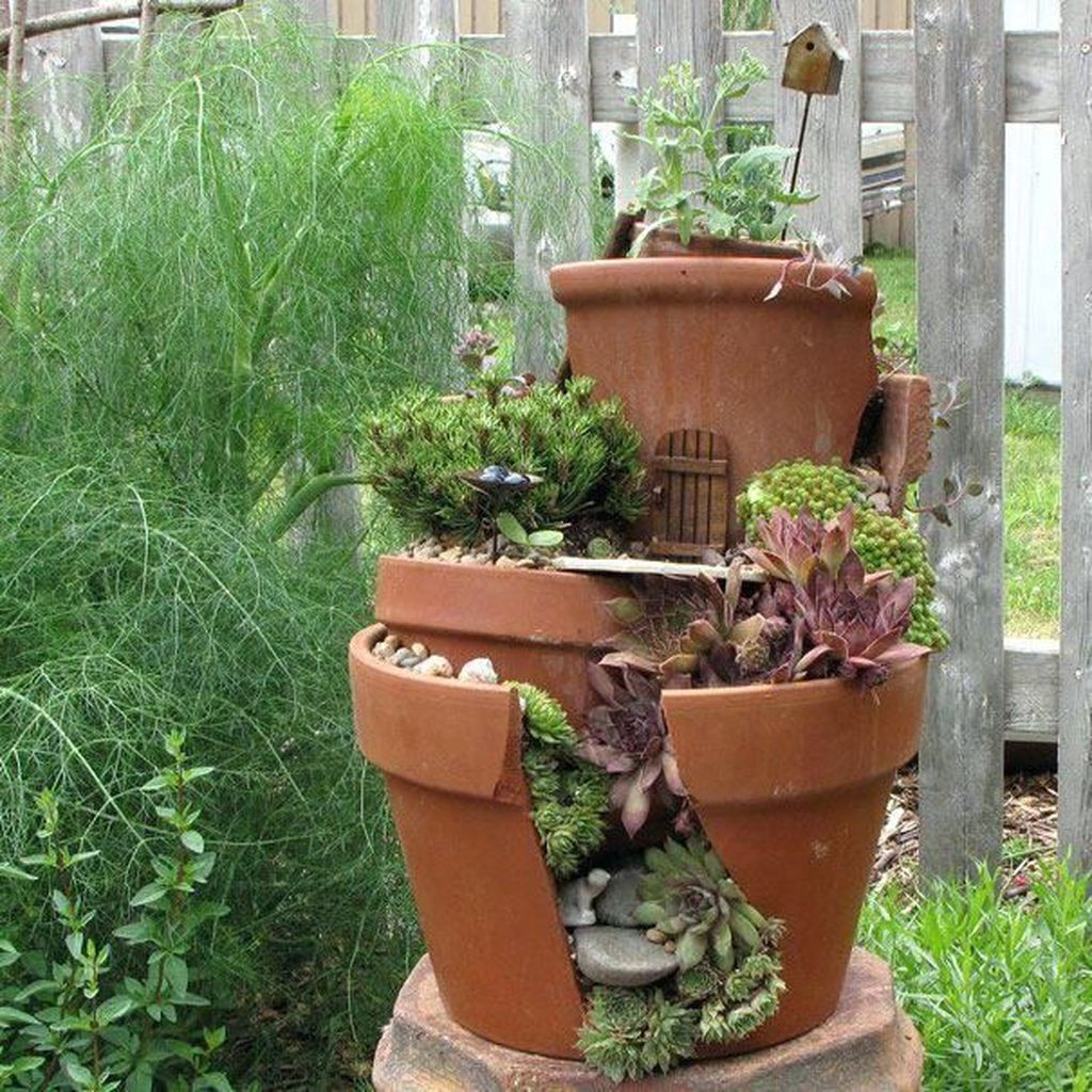 Unordinary Magical Fairy Garden Design Ideas To Try 29