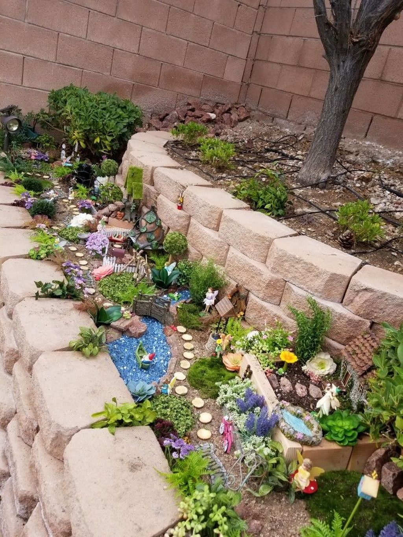 Unordinary Magical Fairy Garden Design Ideas To Try 37