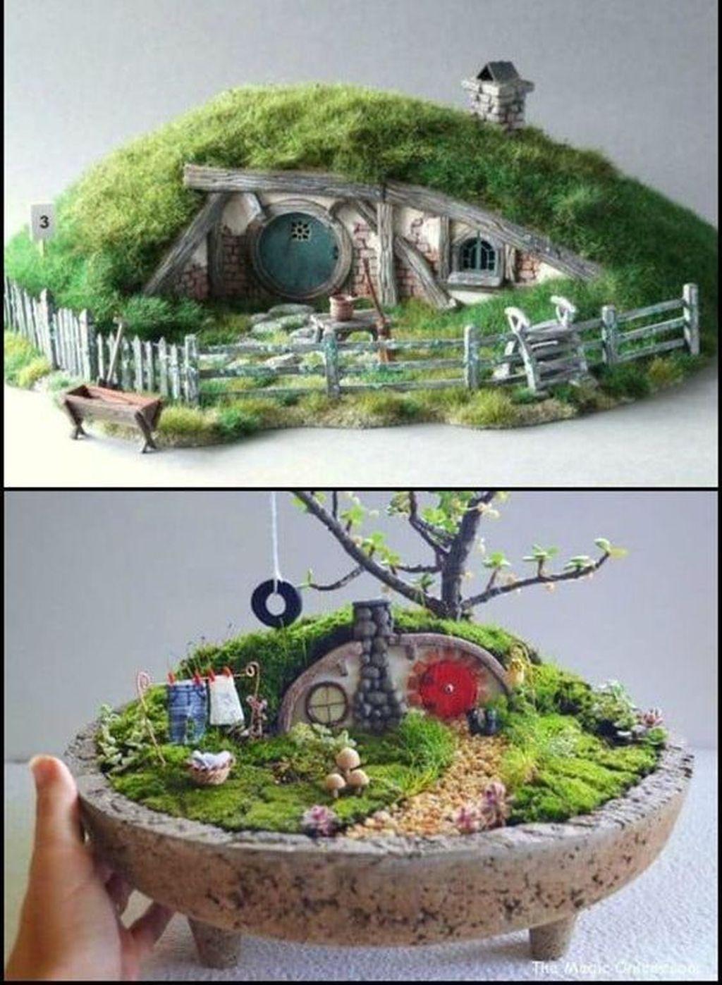 Unordinary Magical Fairy Garden Design Ideas To Try 38
