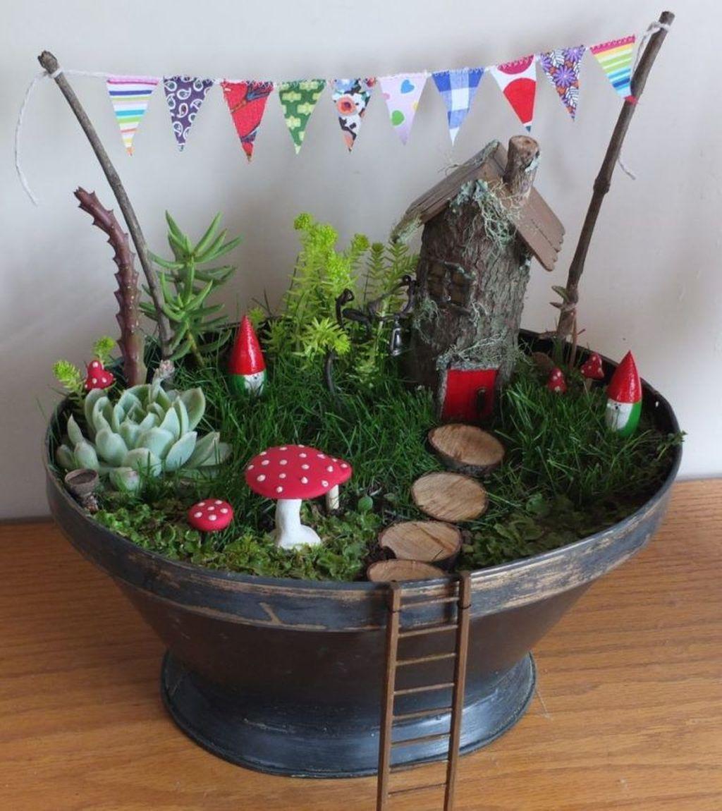 Unordinary Magical Fairy Garden Design Ideas To Try 41