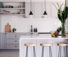 Adorable Kitchen Cabinet Ideas That Looks Neat To Try 20