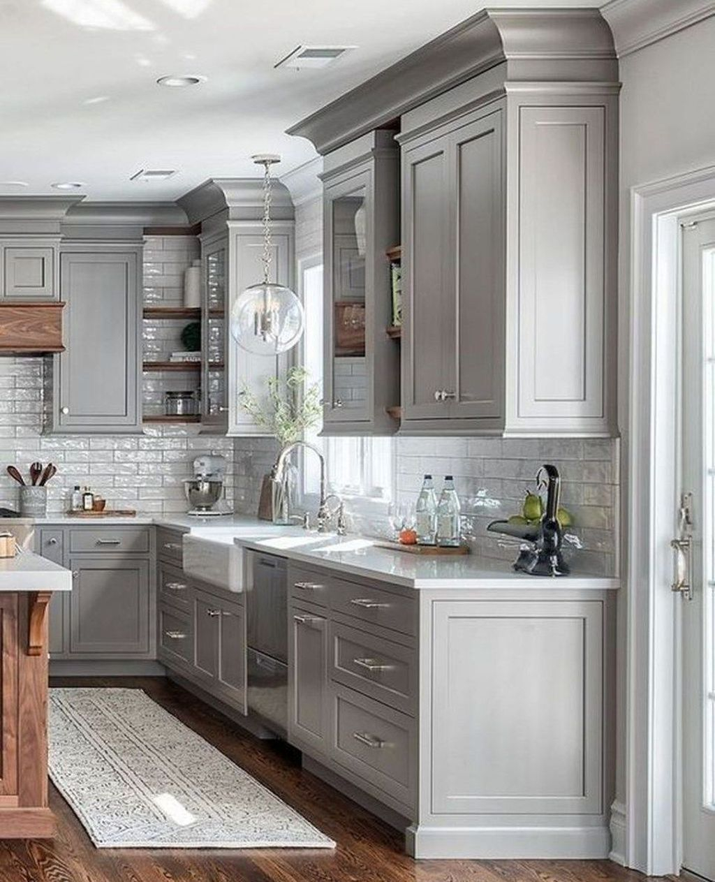 Adorable Kitchen Cabinet Ideas That Looks Neat To Try 26