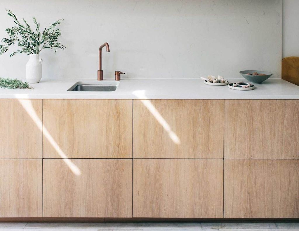 Adorable Kitchen Cabinet Ideas That Looks Neat To Try 27