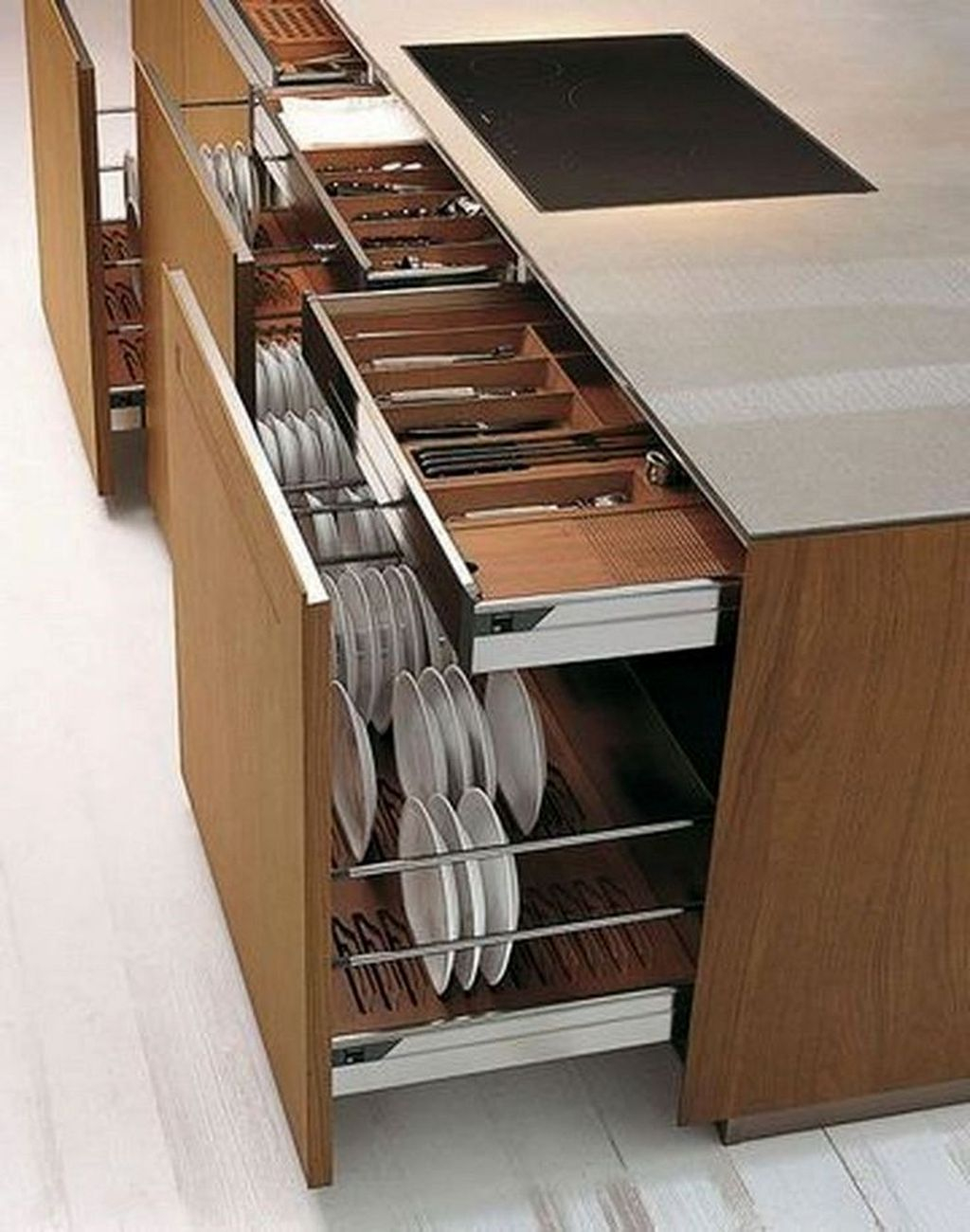 Adorable Kitchen Cabinet Ideas That Looks Neat To Try 34