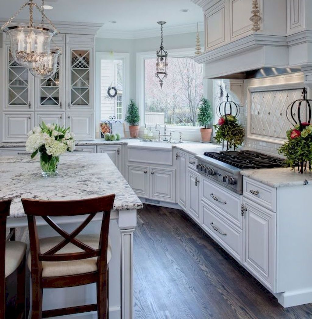 Adorable Kitchen Cabinet Ideas That Looks Neat To Try 35