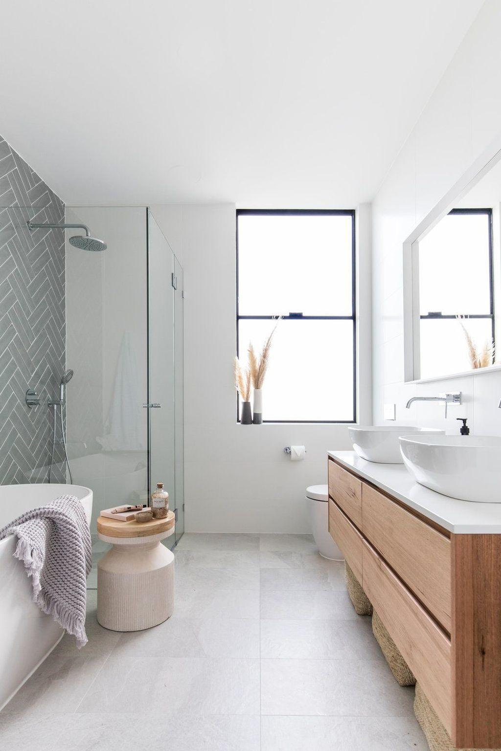 Best Minimalist Bathroom Design Ideas That Trendy Now 17