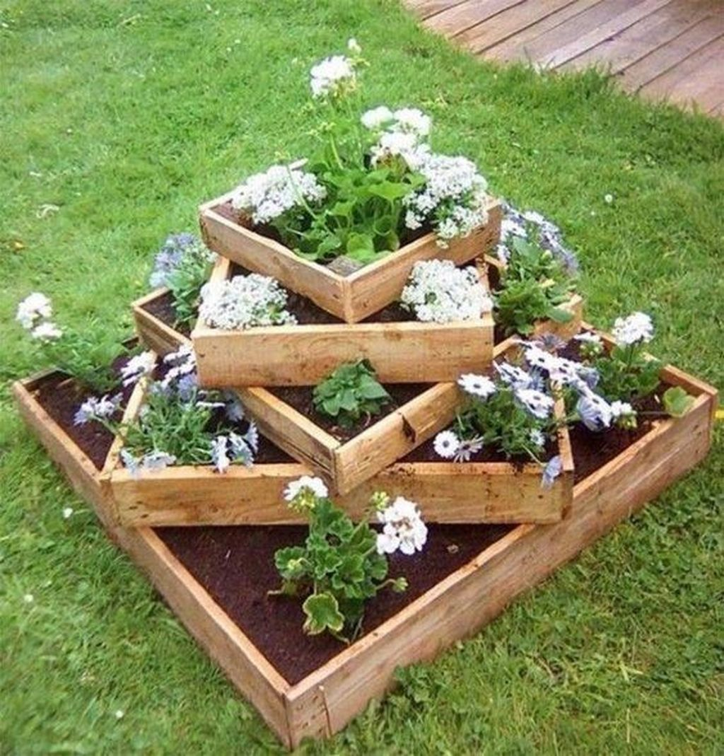 Brilliant Diy Projects Pallet Garden Design Ideas On A Budget 21