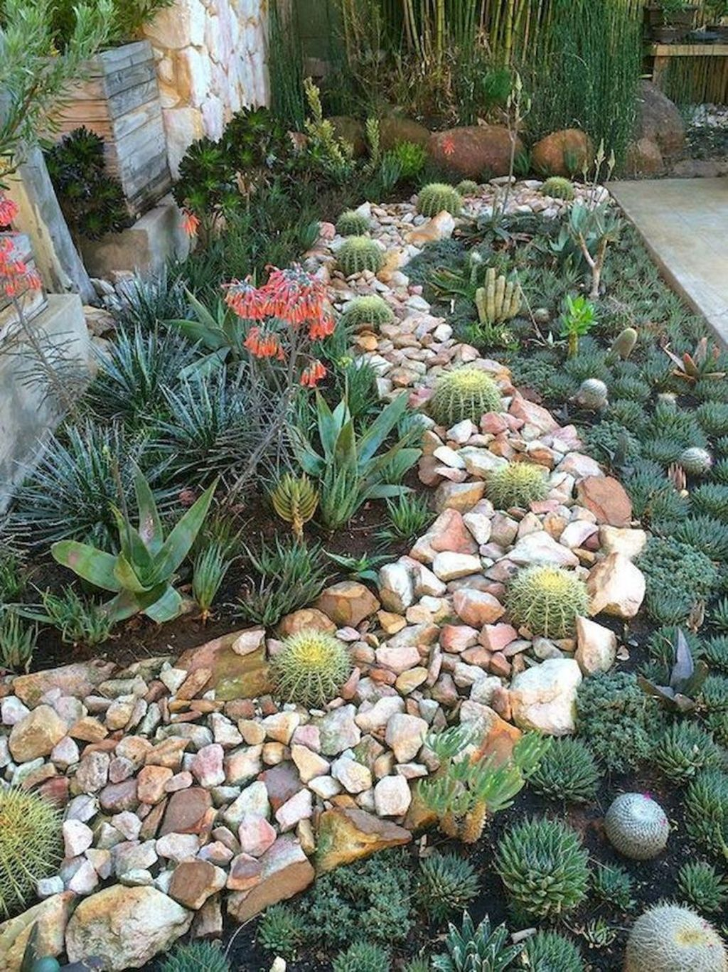 Casual Rock Garden Landscaping Design Ideas To Try This Year 34