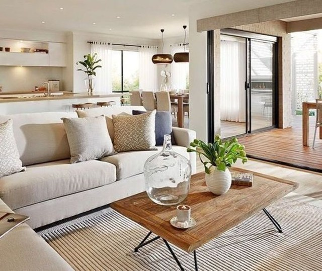 Cool Living Room Design Ideas To Make Look Confortable For Guest 27