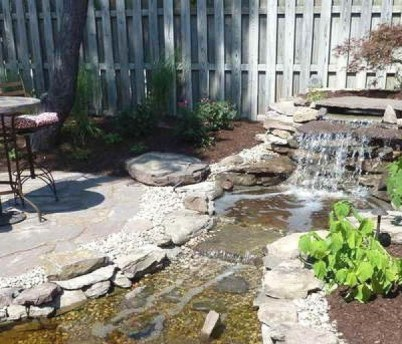 Creative Backyard Ponds Ideas With Waterfalls To Try 05