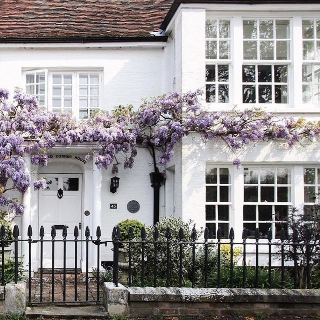 Fabulous Exterior Decoration Ideas With Flower In Window 27
