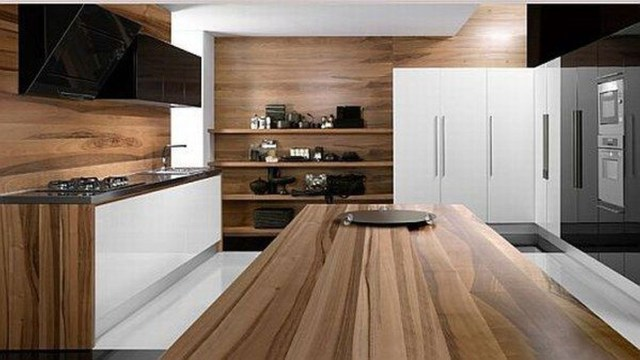 Hottest Wood Kitchen Set Design Ideas That You Can Try 07