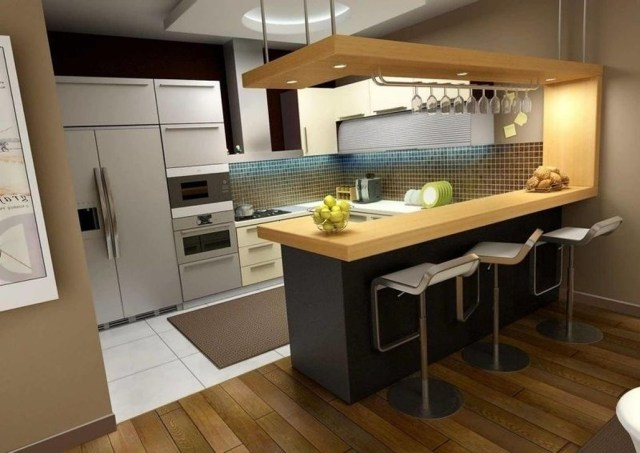 Hottest Wood Kitchen Set Design Ideas That You Can Try 09